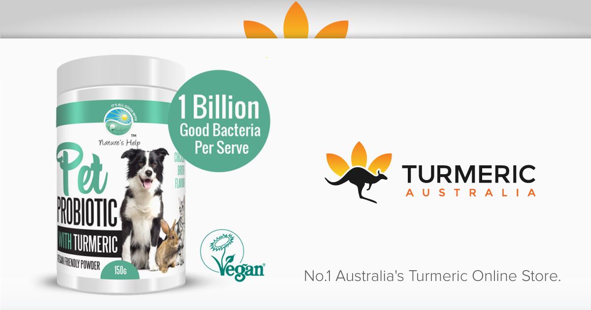 Pet Probiotic with Turmeric - 150g