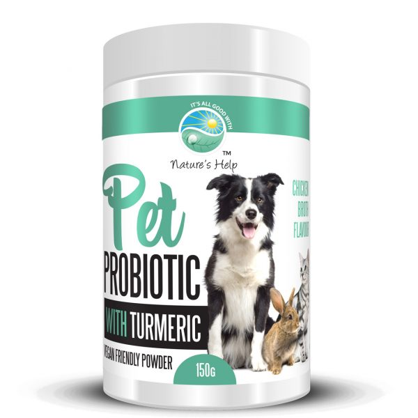 pet probiotic with turmeric