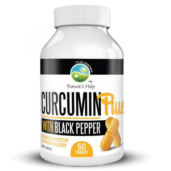 Curcumin Plus with Black Pepper - auto shipping