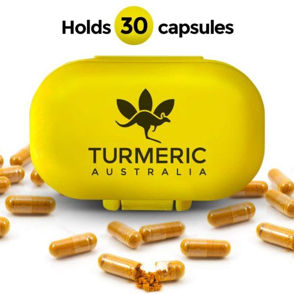 turmeric yellow capsule