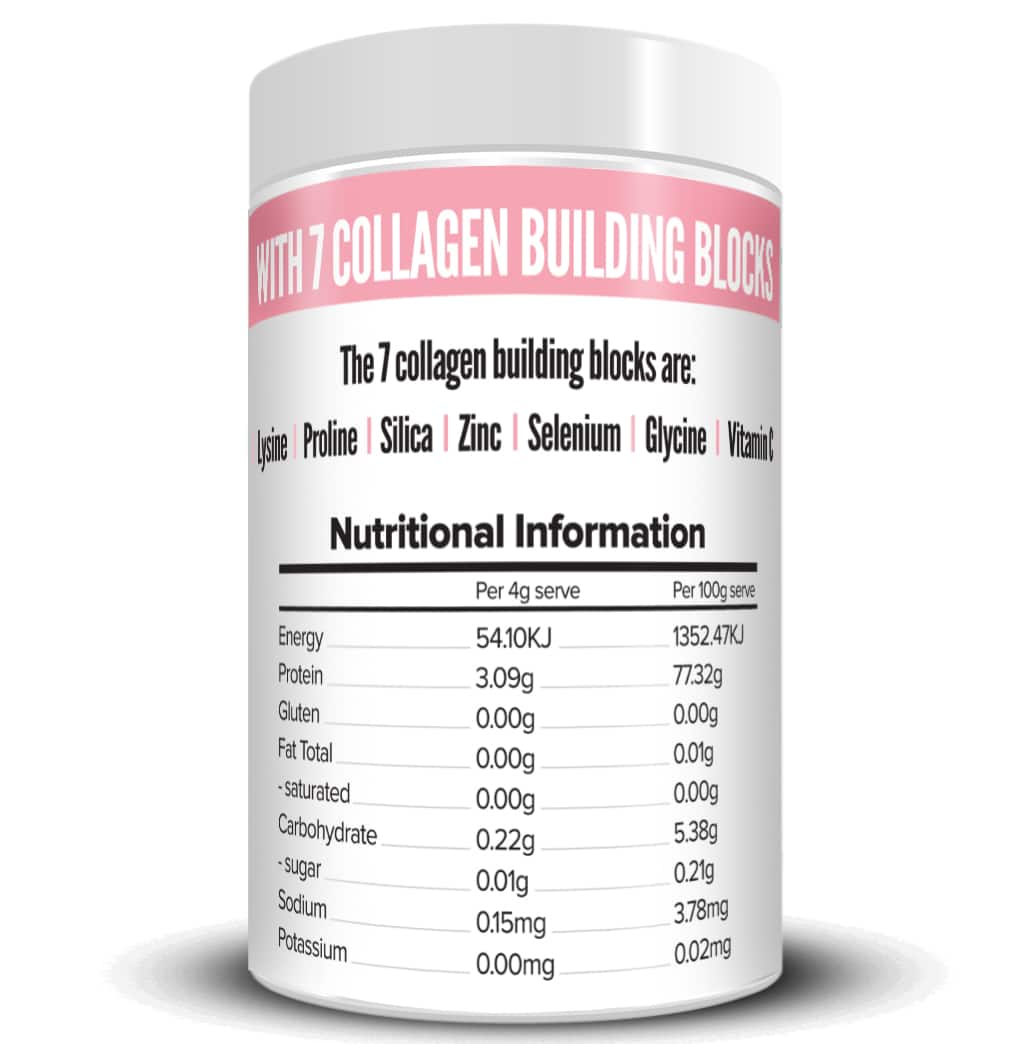 COLAGEN Nutritional Information